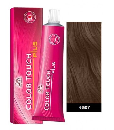 Wella Professionals Color Touch Plus 60ml N°66/07 Ξανθό Σκούρο Φυσικό Καφέ