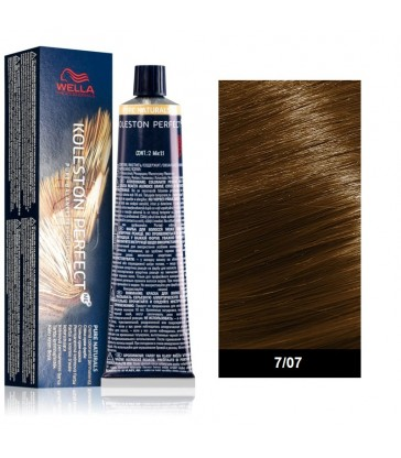 Wella Professional Koleston Perfect Pure Naturals 60ml N°7/07 Ξανθό Φυσικό Καφέ