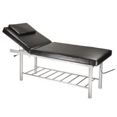 Κρεβάτι αισθητικής σταθερό, φυσικοθεραπείας, μασάζ, με ανάκλιση