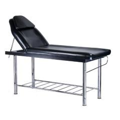 Κρεβάτι αισθητικής σταθερό, φυσικοθεραπείας, μασάζ, με ρυθμιζόμενη γωνία πλάτης