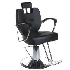 Πολυθρόνα κουρείου Hektor μαύρο χρώμα