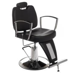 Πολυθρόνα κουρείου Homer II χρώμα μαύρο
