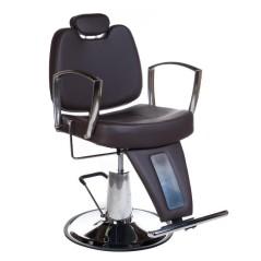 Πολυθρόνα κουρείου Homer II χρώμα καφέ