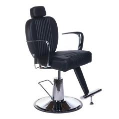 Πολυθρόνα κουρείου Olaf χρώμα μαύρο
