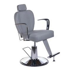 Πολυθρόνα κουρείου Olaf χρώμα γκρι