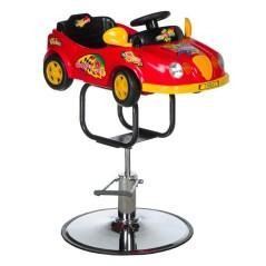 Παιδική καρέκλα κομμωτηρίου αγωνιστικό αυτοκίνητο