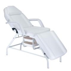 Καρέκλα κρεβάτι αισθητικής χειροκίνητα ρυθμιζόμενη με θήκες αποθήκευσης